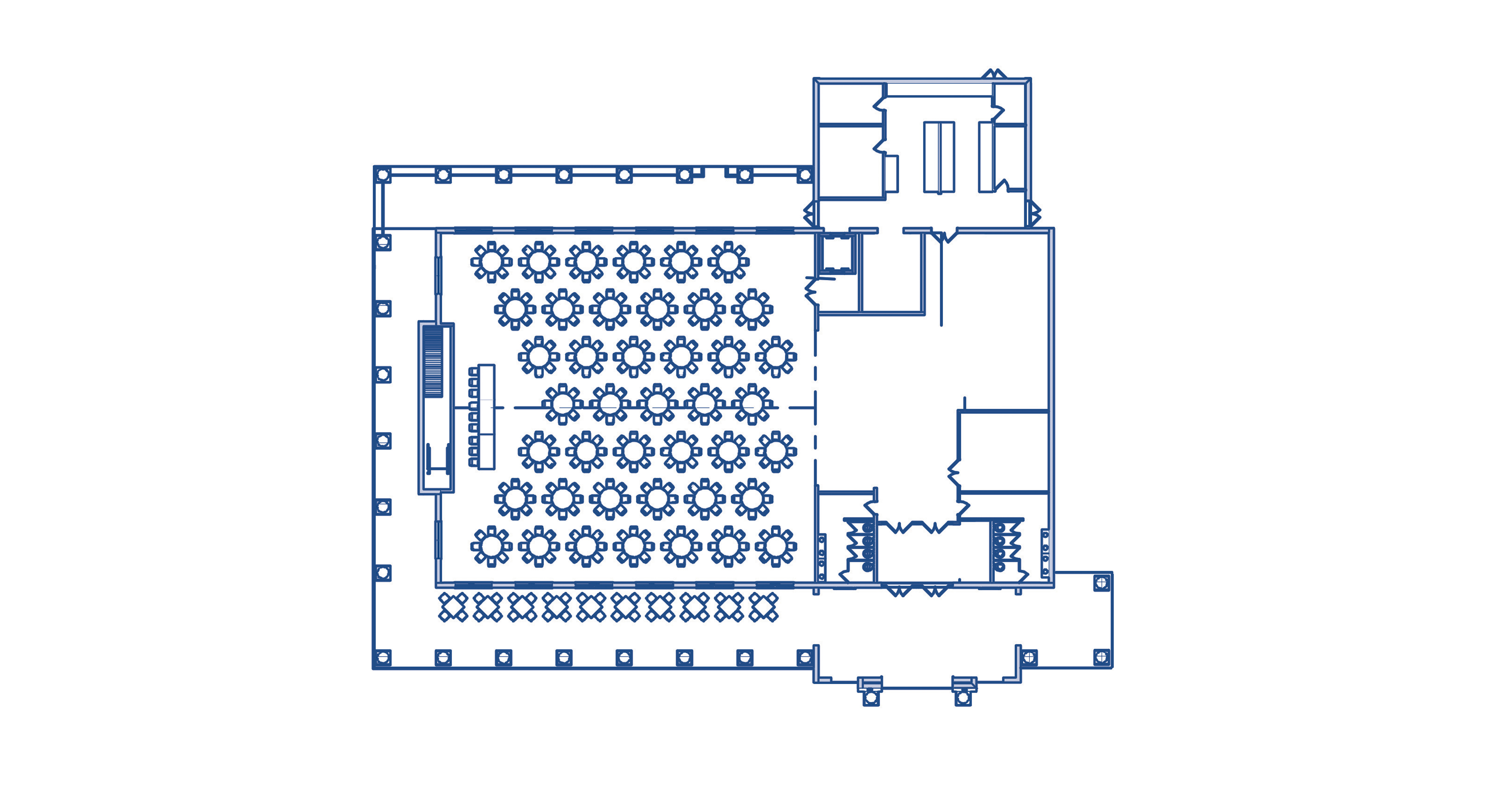 Dining Hall - Floorplan - Web