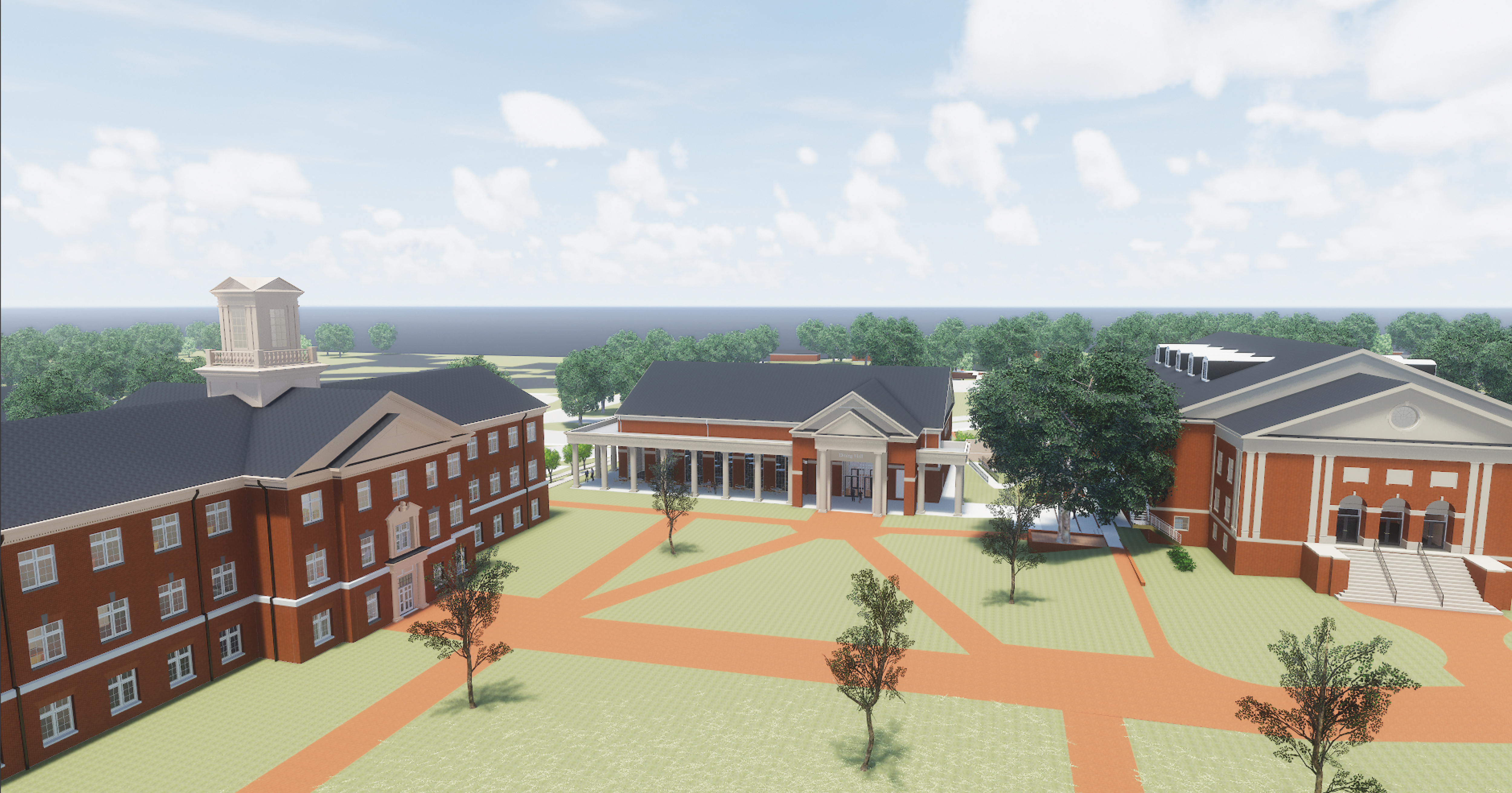 Dining Hall - Quad View - Web